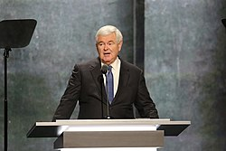 Newt Gingrich - Republican National Convention 2016-07-20 (cropped)