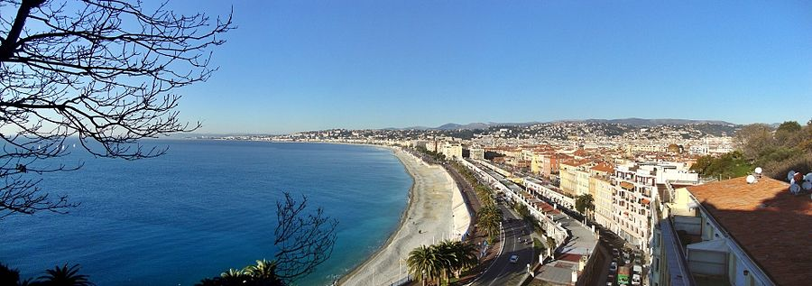 Panorama Of Nice From Colline Du Ch Teau