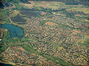 Nicholls, Australian Capital Territory - Aerial view from north