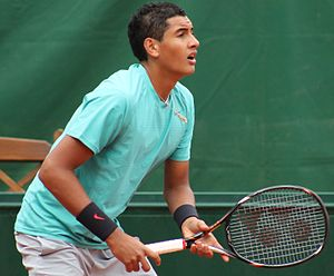 Nick Kyrgios - Kyrgios at the 2013 French Open