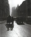 Nicolae Ionescu - The last carriages in the Bucharest center, 1935.jpg