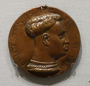 Niccolò III d'Este, Marquis of Ferrara - Niccolò III d'Este, attributed to Amadio da Milano