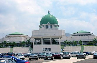 Abuja - Nigeria's National Assembly in Abuja