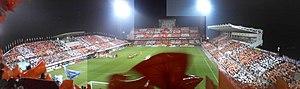 IAI Stadium Nihondaira - Image: Nihondaira Stadium May 2007 Shizuoka Derby versus Jubilo Iwata 3