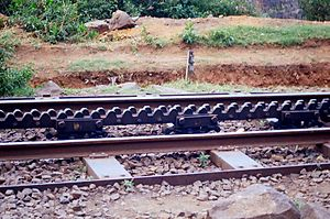 Mountain railways of India - The rack system of NMR