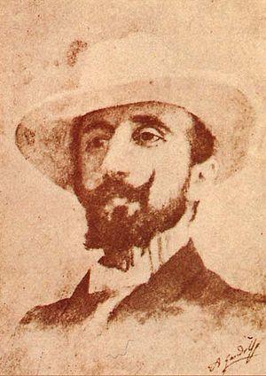 Nino Martoglio - Portrait by Antonino Gandolfo