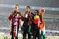 Nirmala Sheron(Gold) And Jisna Matthews(Bronze) For India.jpg