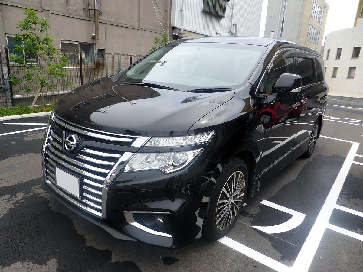 Nissan elgrand, 2018