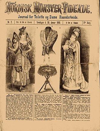 Femina (Denmark) - Swedish edition from January 1890