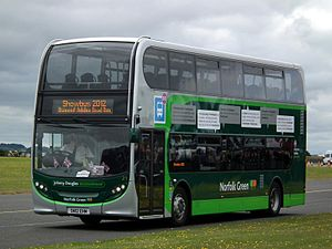 Stagecoach in Norfolk - Alexander Dennis Enviro400 in September 2012