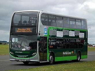 Stagecoach in Norfolk - Alexander Dennis Enviro400 in September 2012
