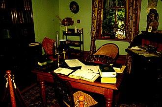 Bethune Memorial House - Image: Norman Bethune's study in Gravenhurst