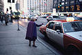North Michigan Avenue, Chicago, November 1985; photographer, Jeff Wassmann.jpg