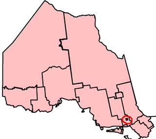 Sudbury (provincial electoral district) provincial electoral district in Ontario, Canada
