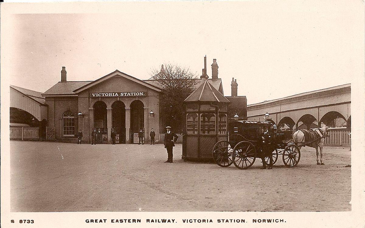 Norwich Victoria railway station - Wikipedia