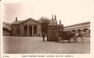 Norwich Victoria railway station - Image: Norwich Victoria railway station