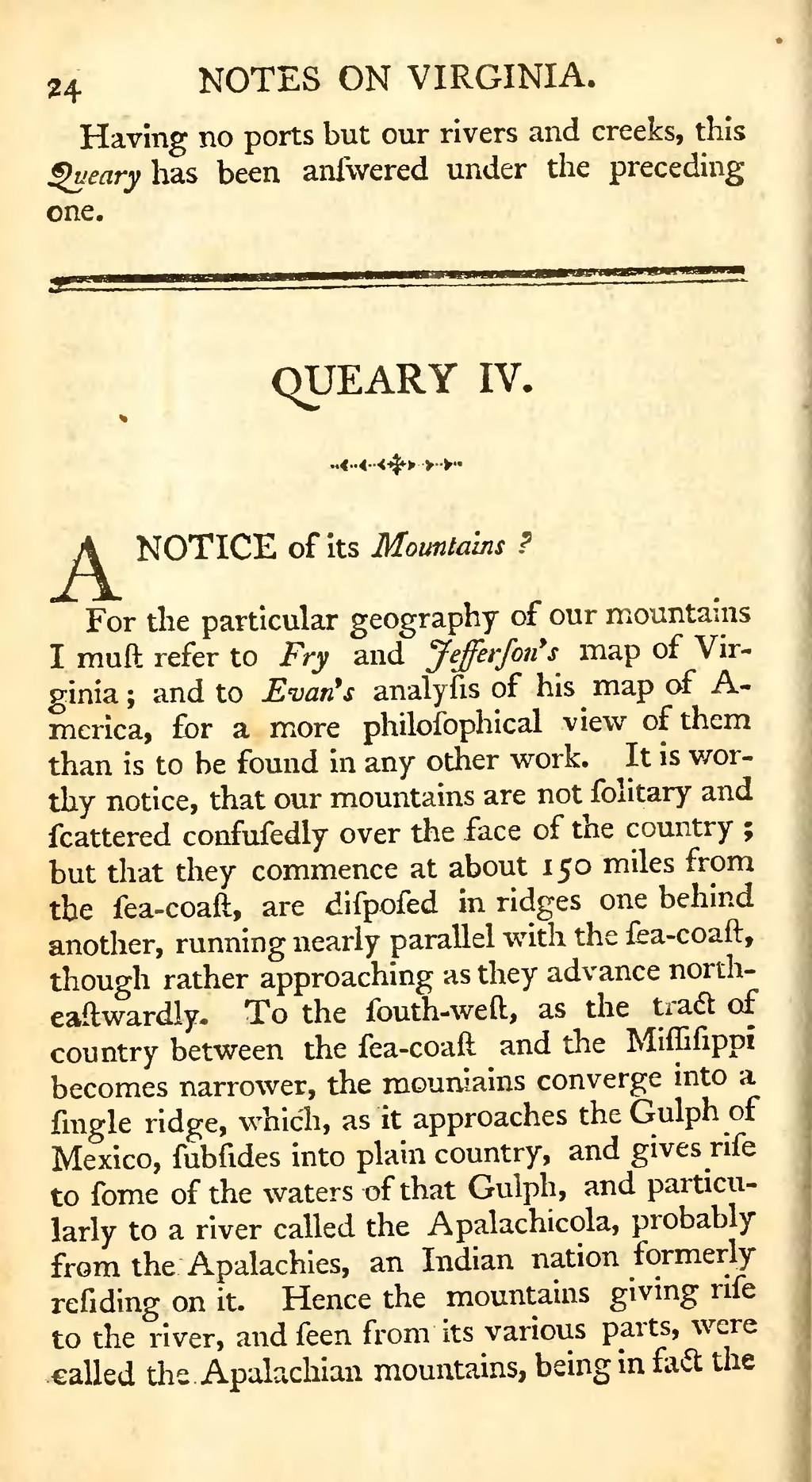 notes on the state of virginia thesis From notes on the state of virginia (1784) | thomas jefferson warning: thomas jefferson makes several racially offensive remarks in the passages below.