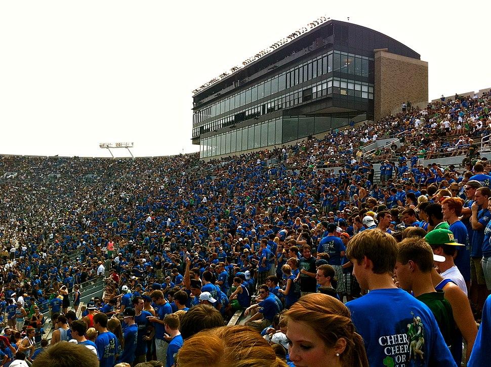 Notre Dame Stadium 2011