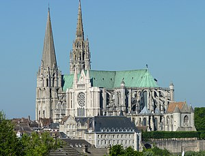 Chartres - Chartres Cathedral in late-May 2010