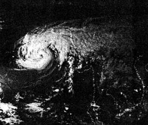 English: Image of the Bhola cyclone taken on N...