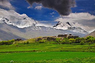Nun Kun - Nun-Kun peaks, Zanskar