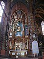 Ołtarz Matki Bożej Częstochowskiej w kosciele św.Joachima - panoramio.jpg