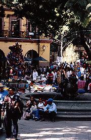 Zócalo, Oaxaca de Juárez
