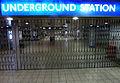 October 4th Tube Strike -- Empty Underground Station (5050098785).jpg
