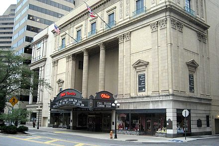 The Ohio Theatre is a National Historic Landmark Ohio Theatre.jpg