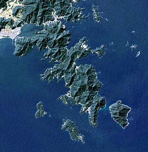 Oshika Peninsula - Landsat image