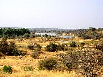 Rundu - River Okavango near Rundu