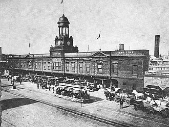 Baltimore Steam Packet Company - The Old Bay Line's Baltimore terminal (1898–1950)