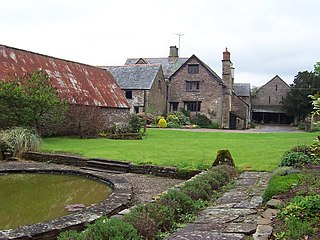 Old Court, Llangattock Lingoed house in Llangattock Lingoed, Monmouthshire, Wales