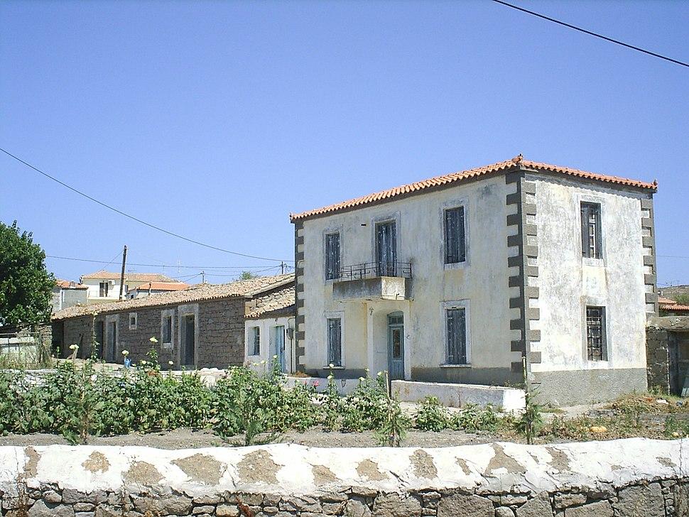 Old House in Smyrna style, Romanou, Lemnos
