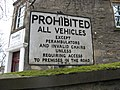 Old Road Sign, Keith. - geograph.org.uk - 349811.jpg