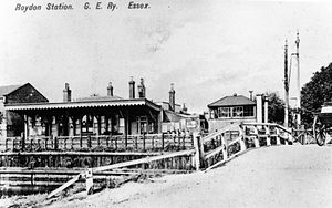 Roydon railway station - The station circa 1900