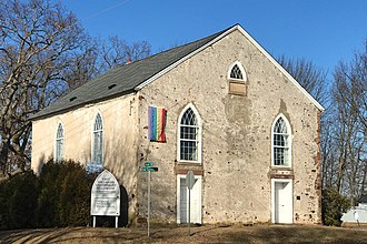 Kingwood Township, New Jersey - Old Stone Church