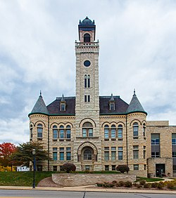 The Old Waukesha County Courthouse in 2012