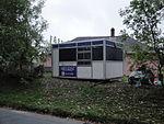 Old Wightlink ticket office in Whitwell Kemming Road garden.JPG