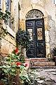 Old door and flowers, Nicosia.jpg