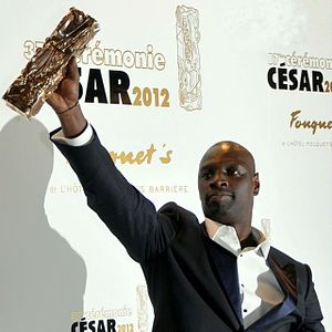 Omar Sy - Omar Sy winning the César Award for Best Actor in 2012 at the 37th César Awards for The Intouchables