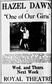 One of Our Girls 1915 newspaper.jpg
