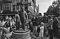 Onthulling beeld Wim Kan en Corry Vonk op het Leidseplein, Bestanddeelnr 933-7297.jpg