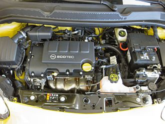 GM Family 0 engine - Family 0 engine in an Opel Adam