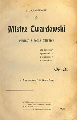 Mistrz Twardowski Oppman Wikiźródła Wolna Biblioteka