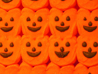 Peeps - Orange pumpkin Halloween Peeps