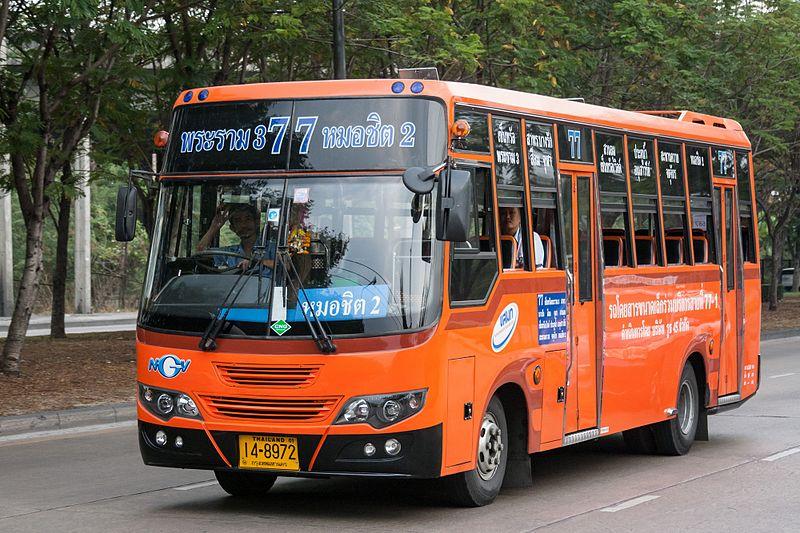 Como pegar ônibus do aeroporto para o centro de Bangkok