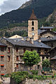 Ordino and bell tower of Saint Corneli and Saint Cebrià. Andorra 222.jpg