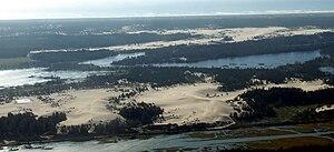 Oregon Dunes National Recreation Area - Image: Oregon Dunes Near Coos Bay