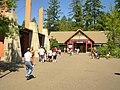 Oregon Zoo, Portland, Oregon, USA -inside entrance-25July2010.jpg